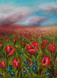 Milena Olesinska - Wild Flowers - Poppies