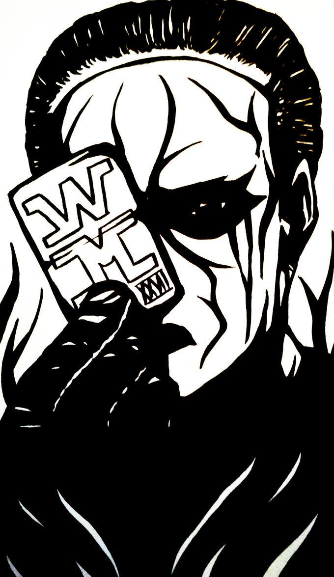 Wrestling : Sting by Ayareturn