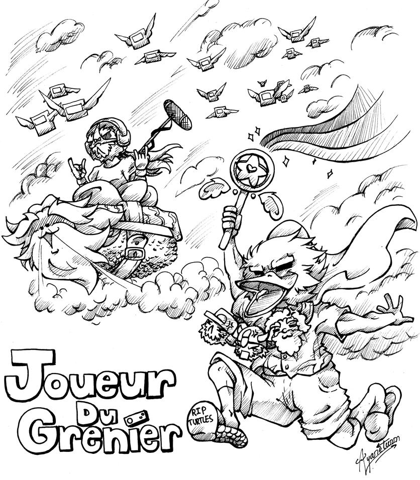 A present for Joueur du Grenier by Ayareturn