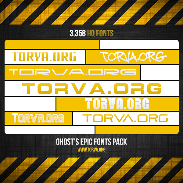 Download EPIC Fonts Pack 3,358 Fonts by FTW-Ghost on DeviantArt