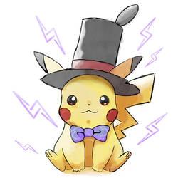 Turnup-Head Inspired Pikachu