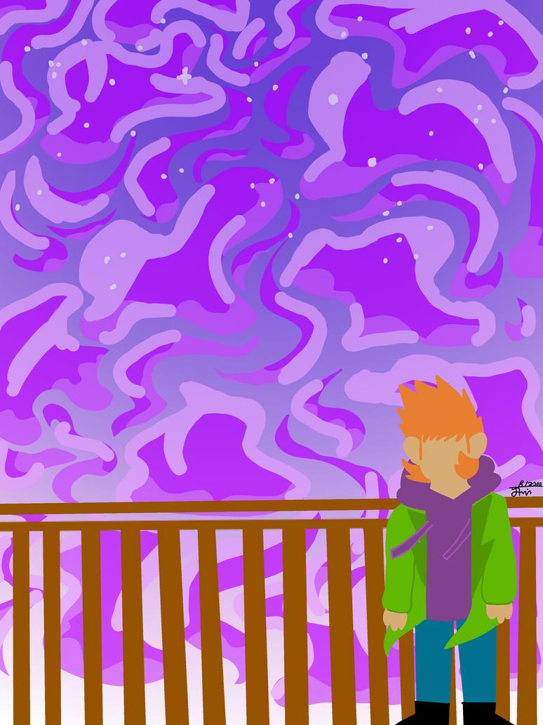 Matt and the stars  by Puppup1212