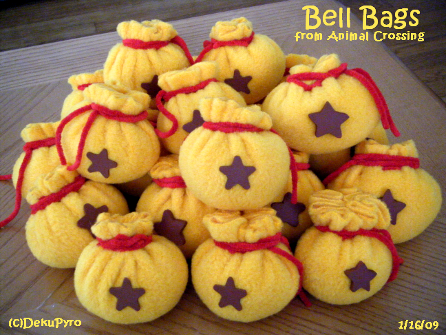 Animal Crossing: Bell Bags by DekuPyro