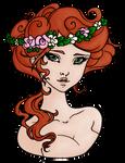 Petit Trianon Color - Flower Tiara