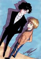 Sherlock and John by monyta