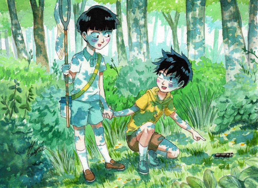 Kageyama brothers by monyta