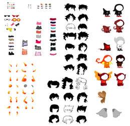 HomeStuck Character Sprite Sheet