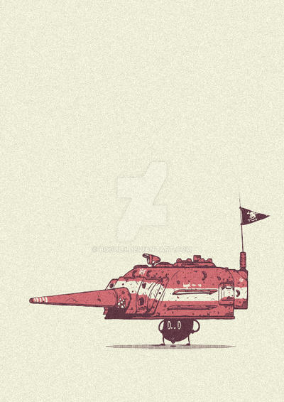 Little tanker by Bogul3