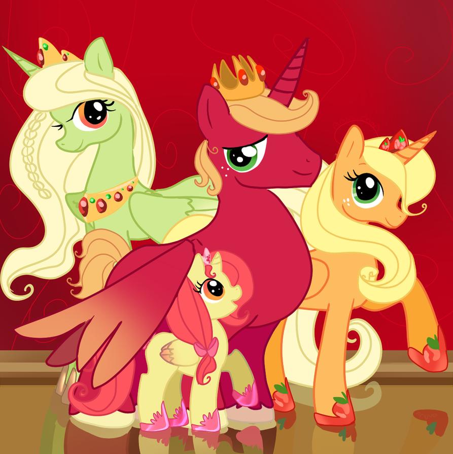 Apple Royalty by aruva-chan