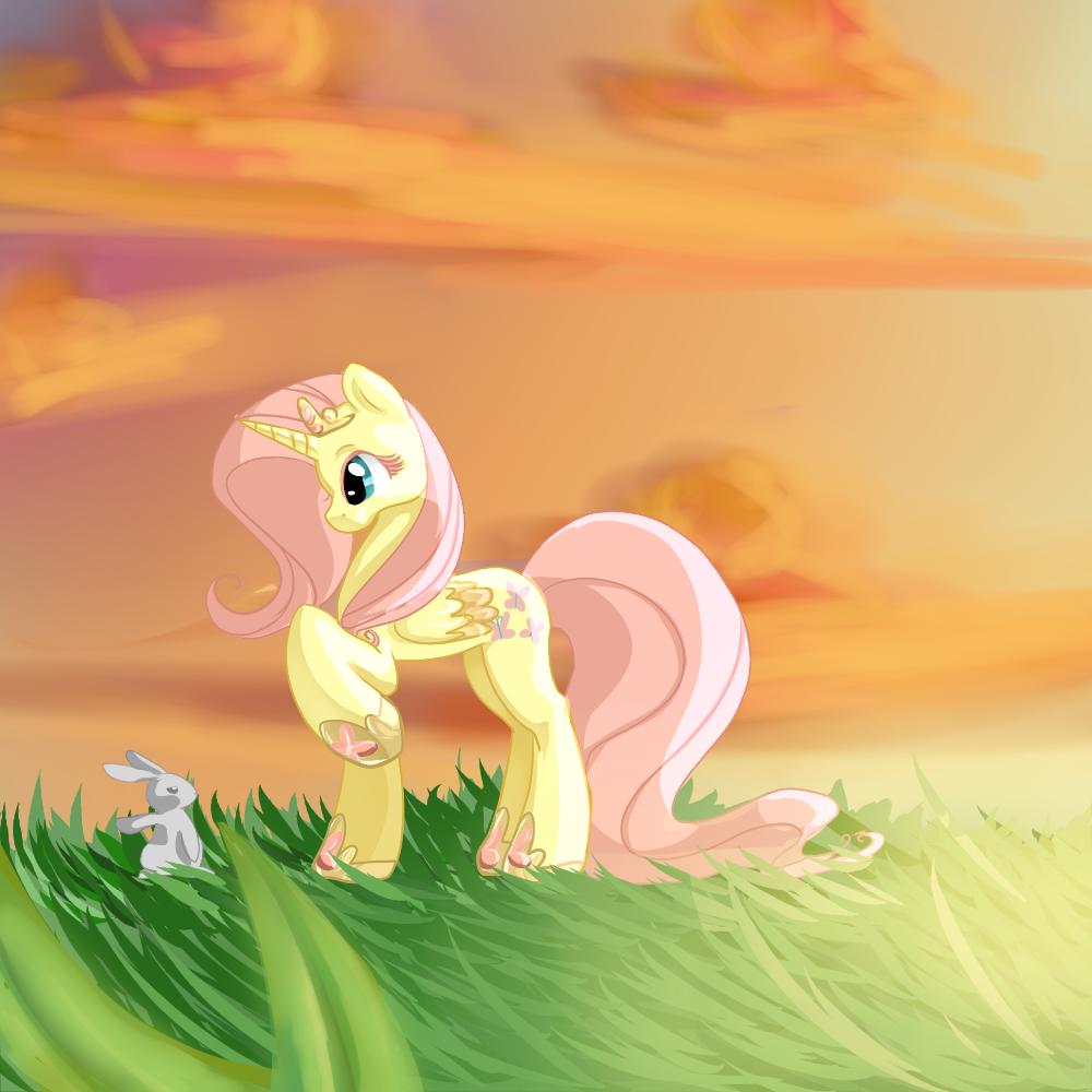 Flutter Princess by aruva-chan