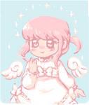 Soft Chibi Angel by aruva-chan