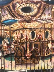 Carousel by aruva-chan