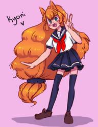 Kyoni by aruva-chan
