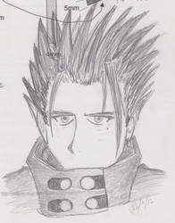 Vash looking cool by Zanees