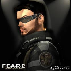 Sgt. Becket FEAR2