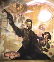 Bioshock Infinite Fan Poster by toughraid3r37890