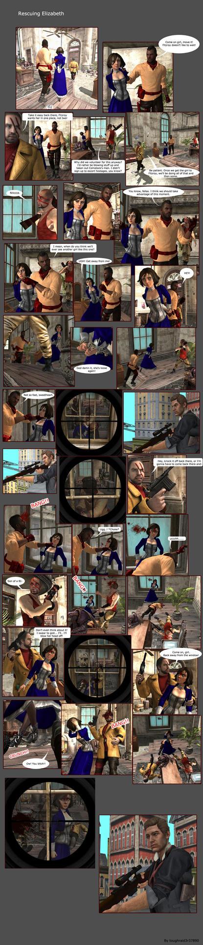 Rescuing Elizabeth Comic by toughraid3r37890