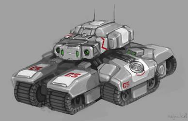 Siege Tank by Mr--Jack