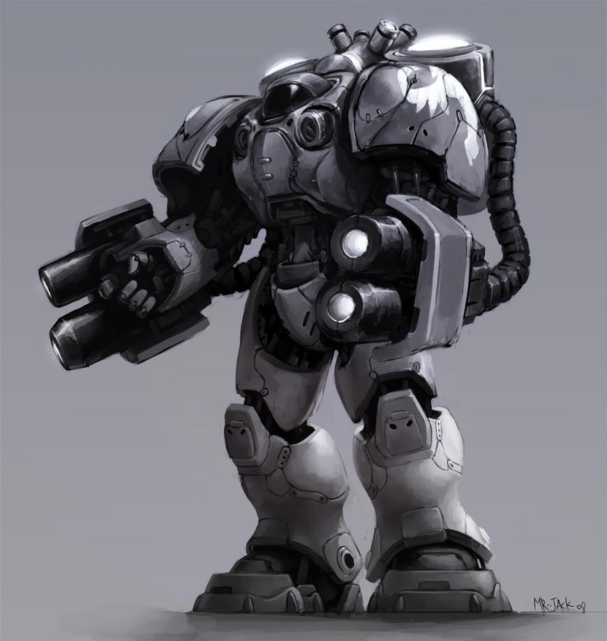 Culver Yardley's Personal Power Armor