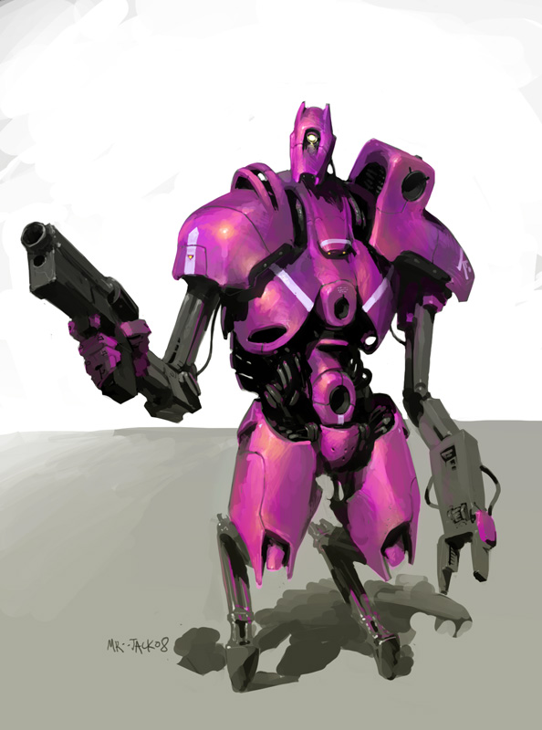 PinkBot by Mr--Jack