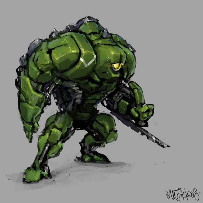 GreenMech by Mr--Jack