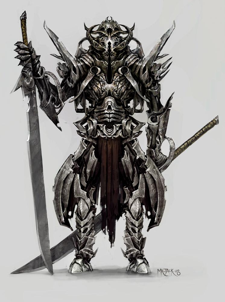 Training Demon_Samurai_by_Mr__Jack