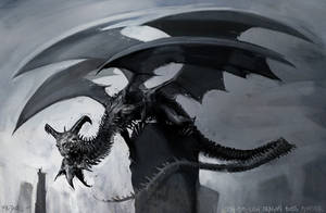Lich Dragon by Mr--Jack