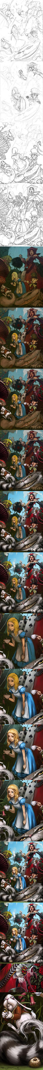 Alice in Wonderland Process by Mr--Jack