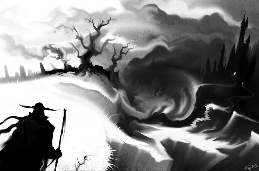 Island Description Approaching_the_Dark_Castle_by_Mr__Jack