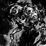 Demon and Skulls