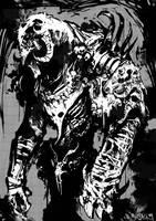 Demon Upright