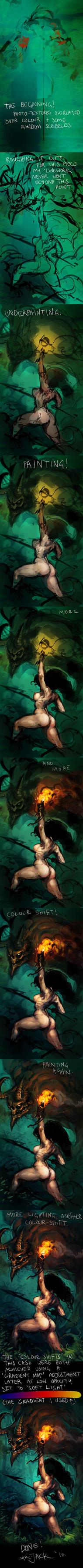 Jungle Fight Process by Mr--Jack