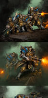 Cygnar: Trenchers by Mr--Jack