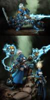 Cygnar: Storm Infantry by Mr--Jack