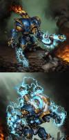 Cygnar: Warjacks III by Mr--Jack