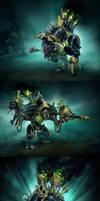 Cryx: Warjacks by Mr--Jack