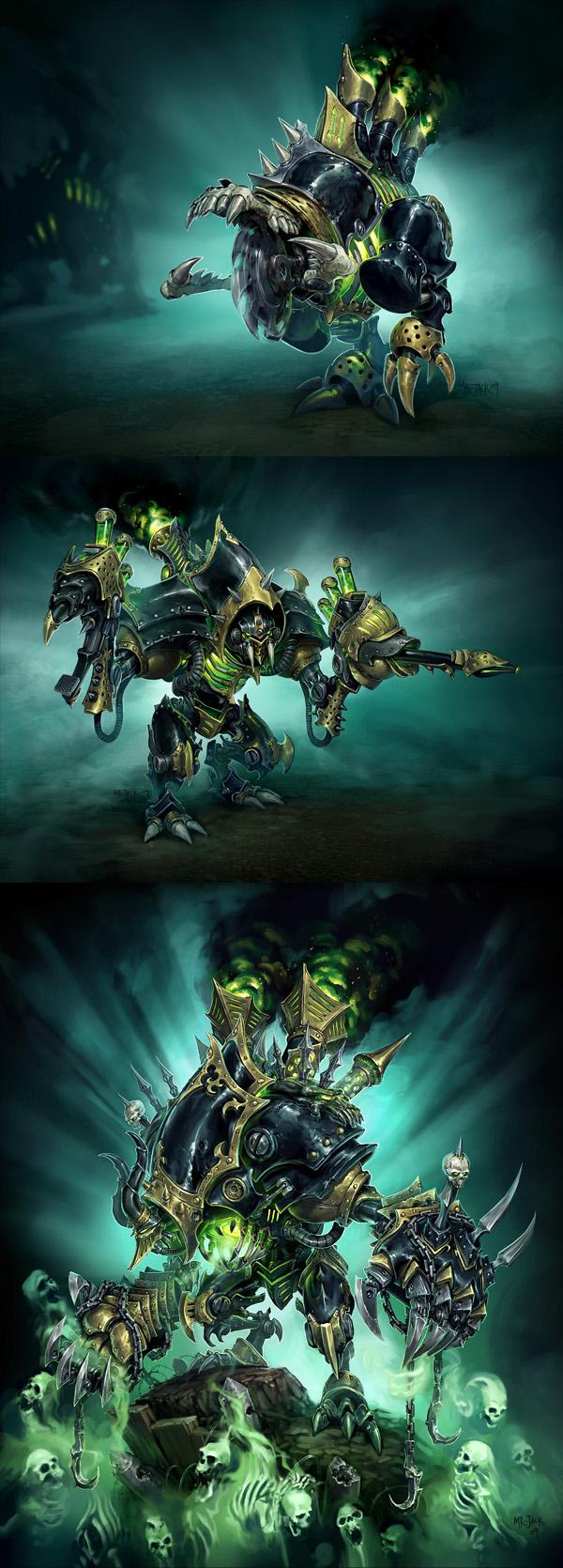 Cryx: Warjacks