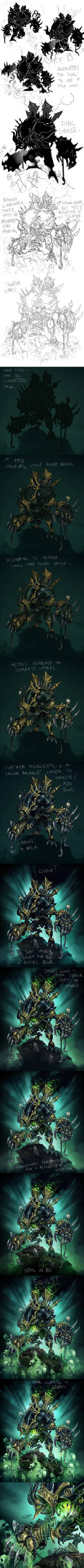Cryx: DeathJack Process by Mr--Jack