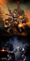 Warmachine: Mercenaries