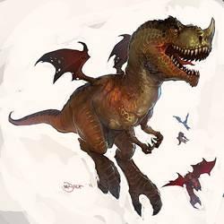 T-Rex Muta by Mr--Jack