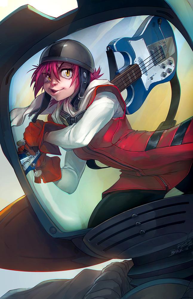 Haruko Haruhara by Mr--Jack