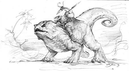 Dwarf Rider by Mr--Jack