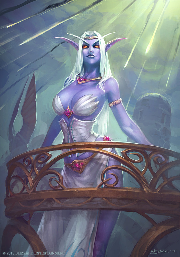 Queen Azshara by Mr--Jack