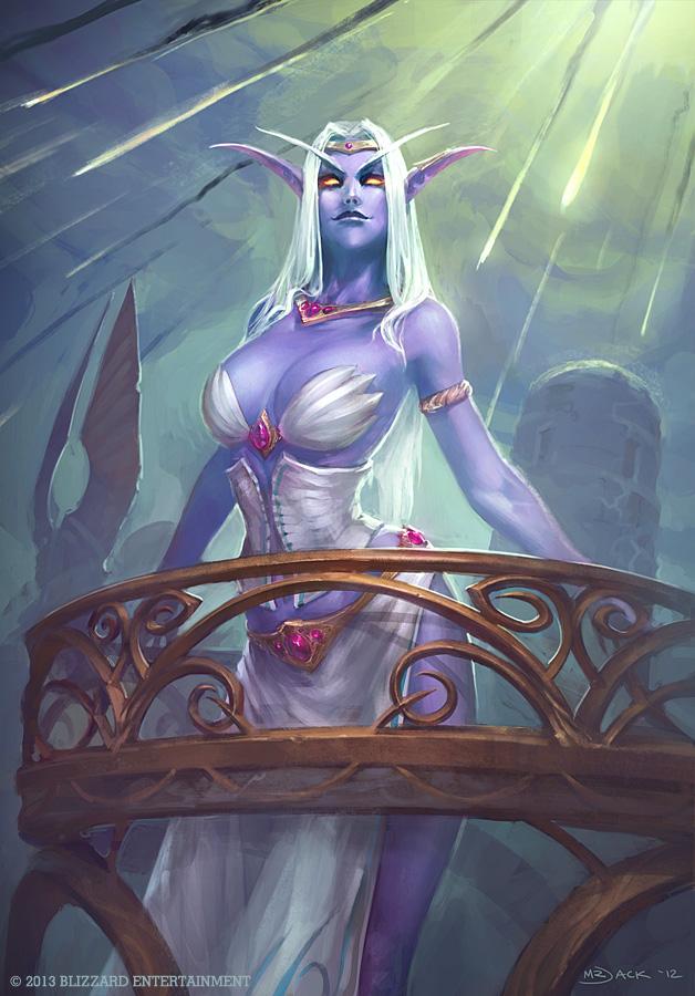 Azshara Queen Of Kalimdor By Narga Lifestream On Deviantart
