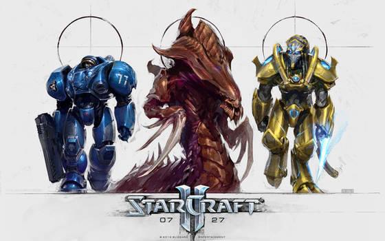 StarCraft: Trifecta