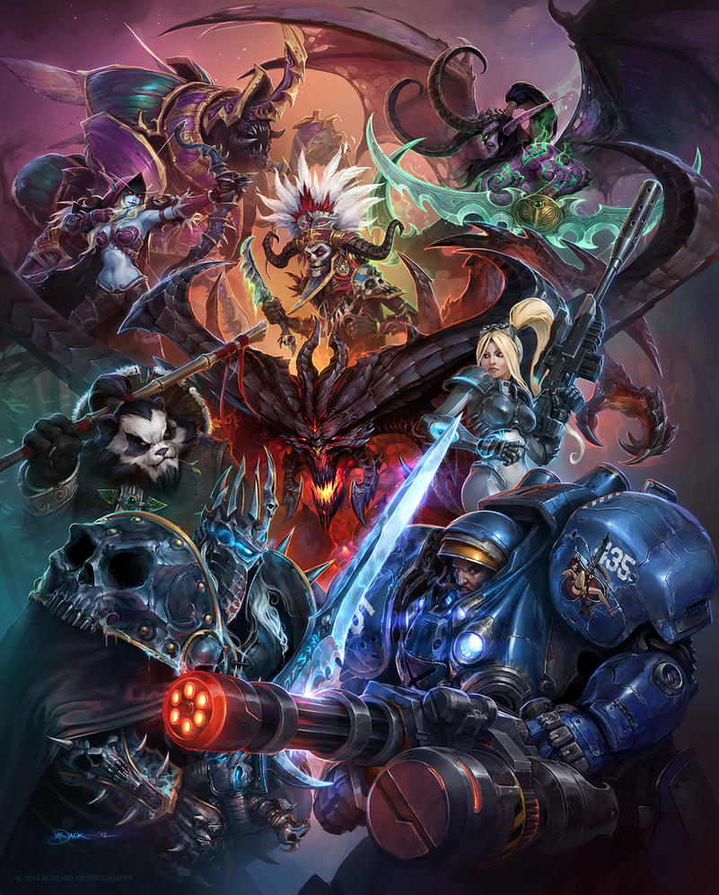 heroes of the storm by mr jack on deviantart