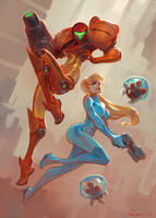 Samus by Mr--Jack
