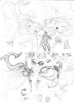 Twisty Sketches