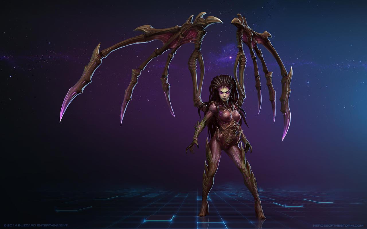 Sarah Kerrigan, Queen of Blades by Mr--Jack