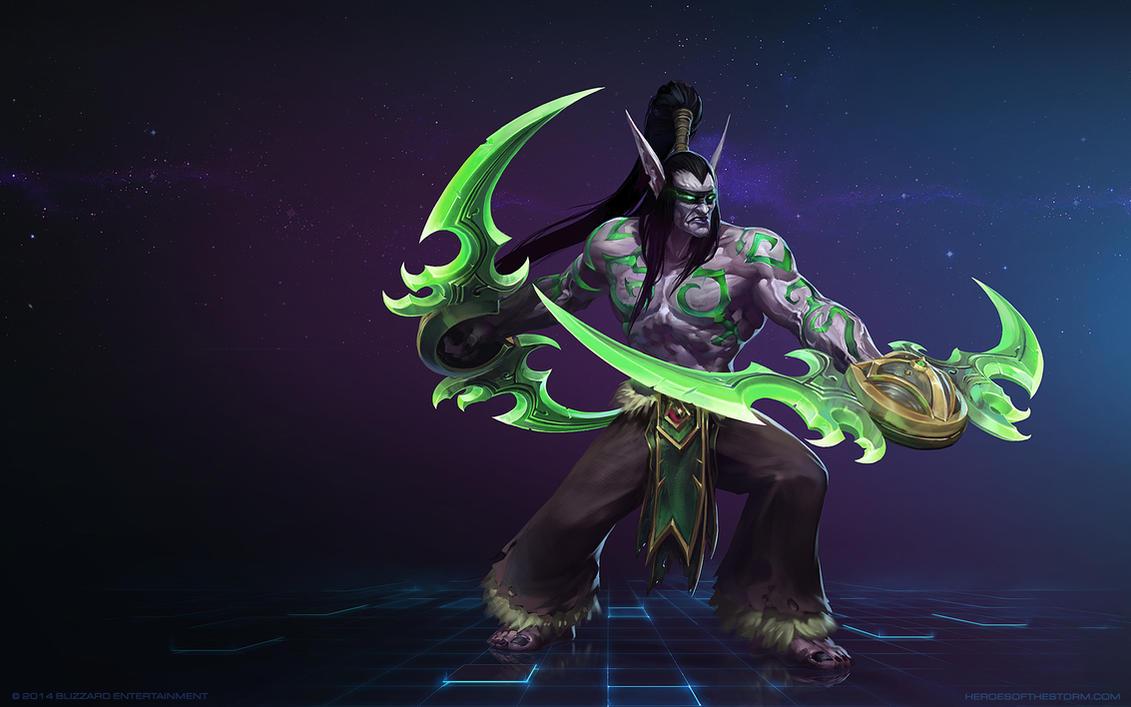 Illidan Stormrage - World of Warcraft Minecraft Skin